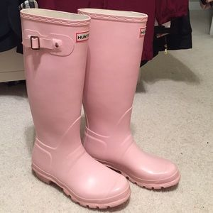Light Pink Rain Boots - Boot Hto