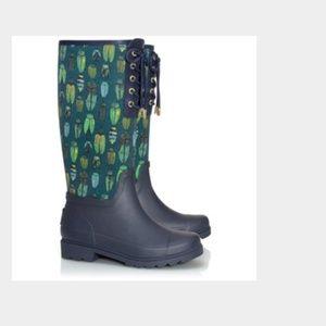 Tory Burch  //  rain boots