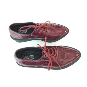 Cheap Monday Shoes - Cheap Monday Burgundy Creepers ON HOLD