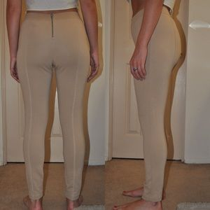 Zara Pants - Zara Khaki Leggings