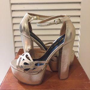 Leila Stone Shoes (7.5/8)