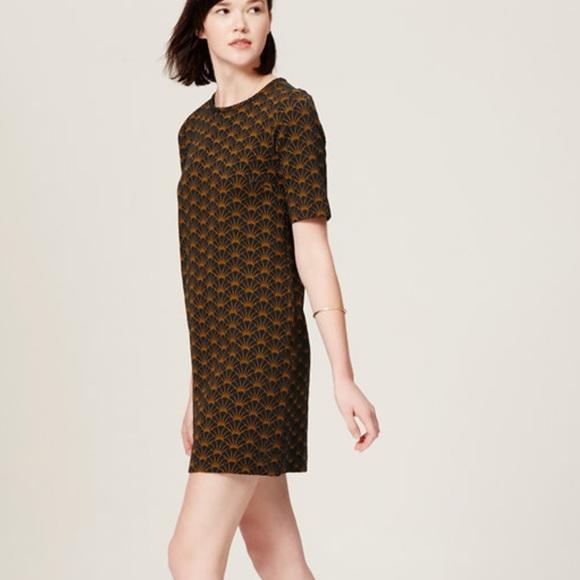 loft dresses. \u2022NEW\u2022 Ann Taylor Loft Deco Shift Sweater Dress Dresses G