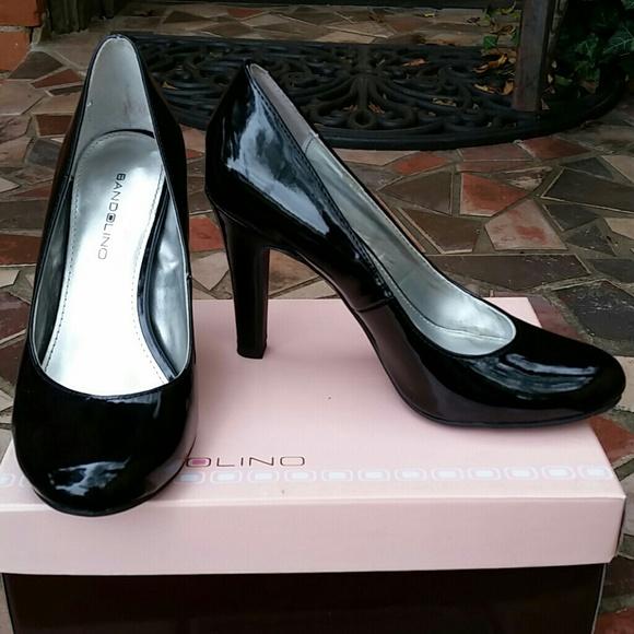 Bandolino Shoes | Black Patent Pumps
