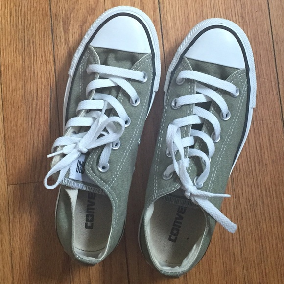 Converse Shoes | Moss Green Converse