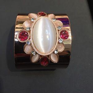 Jewelry - Pink Gold Statement Cuff