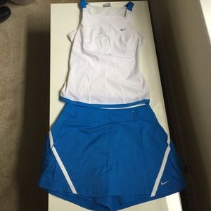 Nike Blue Outfit Dry-Fit