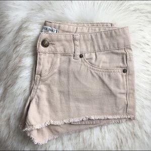 Heritage 1981 Pants - ▪️ F21 Love Heritage 1981 khaki jean short