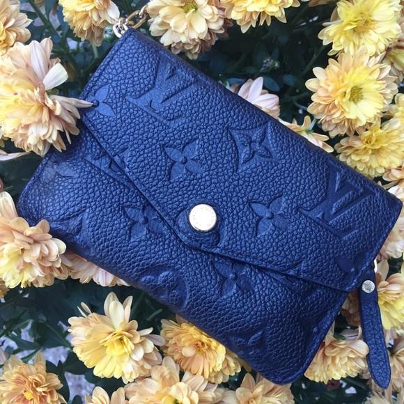1f8f37a3a8bd Louis Vuitton Handbags - Louis Vuitton Monogram Empreinte key pouch (BLACK)