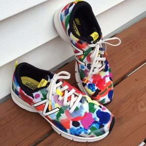 Kate Spade for New Balance WX711 in Paint Splatter