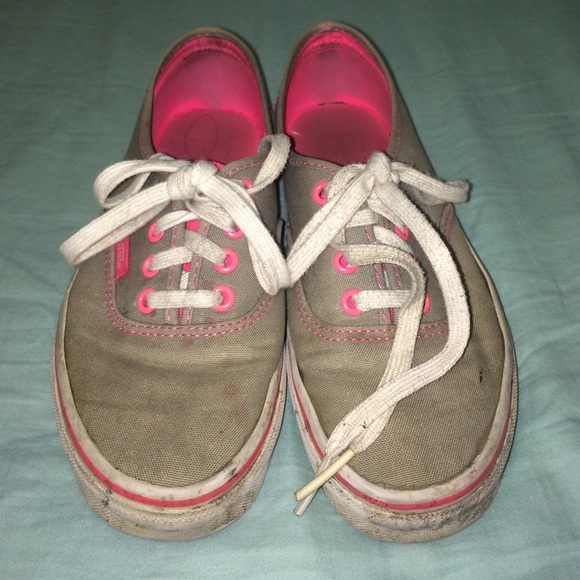 girls van shoes