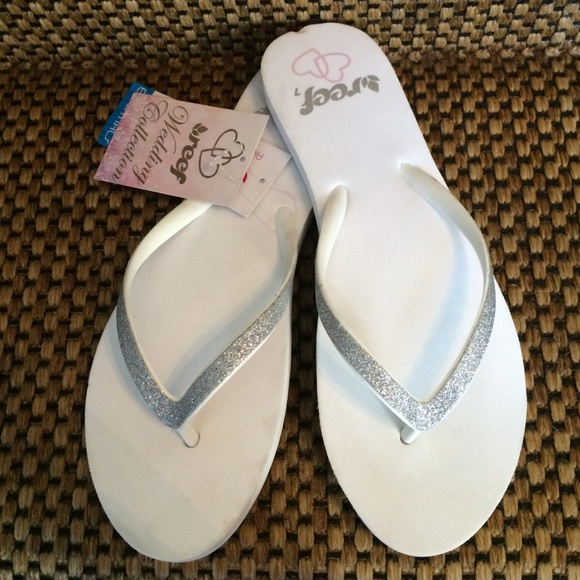 7eca764c0 Reef Wedding Collection White Flip Flop