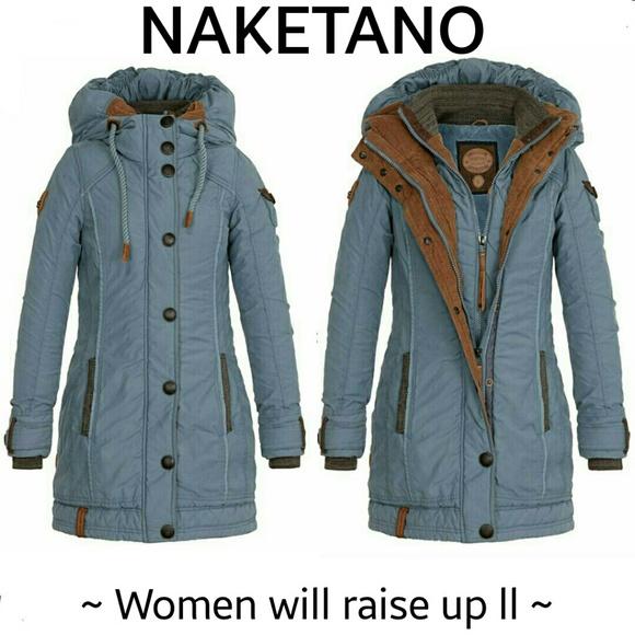 naketano sold naketano hooded winter coat from cupc8ks 39 s. Black Bedroom Furniture Sets. Home Design Ideas