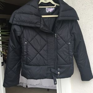 Krush Jackets & Blazers - Krush Winter Rain Black Puffy Jacket