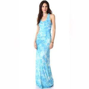 Young Fabulous & Broke Dresses - Young fabulous and broke blue tie dye dress