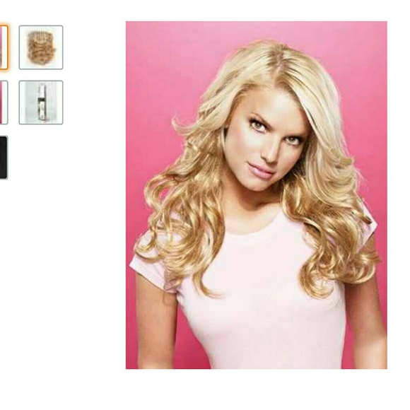 Jessica Simpson Accessories Hair Do Hair Extensions By Blonde