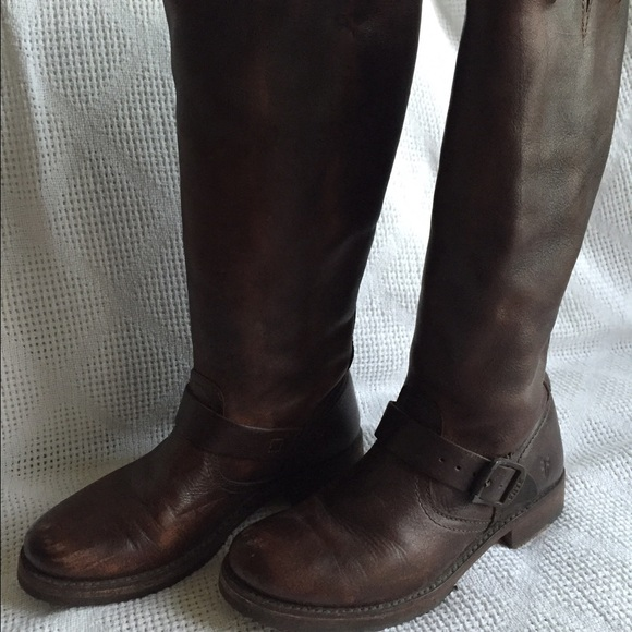 4423e044cd47 Frye Shoes - Frye Veronica Slouch Rugged Boot