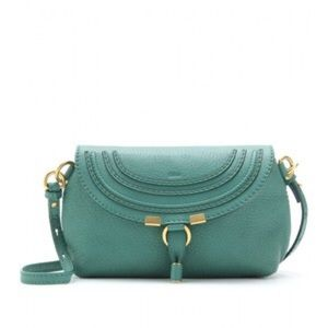 Chloe Handbags - Chloe Marcie Pouchette Emerald 🌟fab condition!🌟