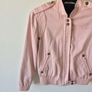 Marc Jacobs Jackets & Blazers - HP❤️Marc Jacobs Pink Bomber Jacket