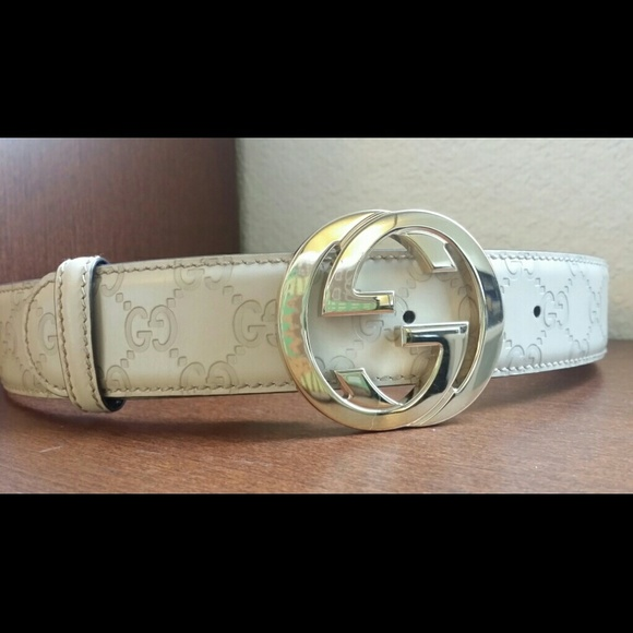 f4de9a008b9 Gucci Accessories - Guccissima Belt With Interlocking