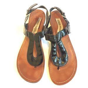 Steve Madden Shoes - Steve madden patent leather sandal