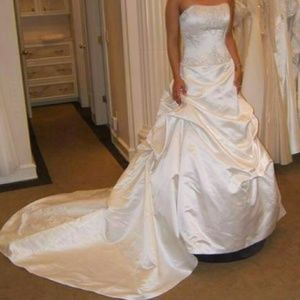 sally crew wedding dress