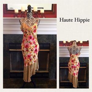 Haute Hippie Dresses & Skirts - ✨FINAL PRICE✨NWT Asymmetrical Haute Hippie Dress