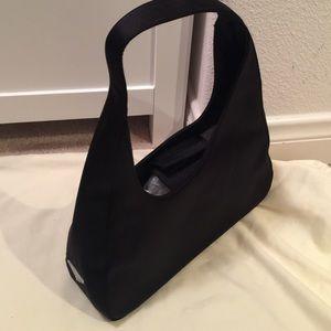 prada spazzolato evening bag