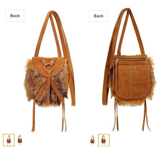 887bb332a2ee Lucky Brand Handbags - NWOT LUCKY BRAND TOLUCA LAKE MINI FUR CROSSBODY