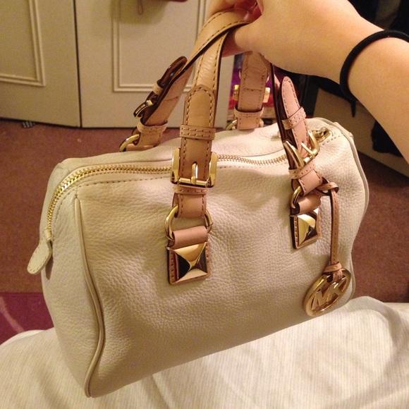 72bee1e3a6e7f0 Michael Kors Bags | Grayson Leather Small Satchel Handbag | Poshmark