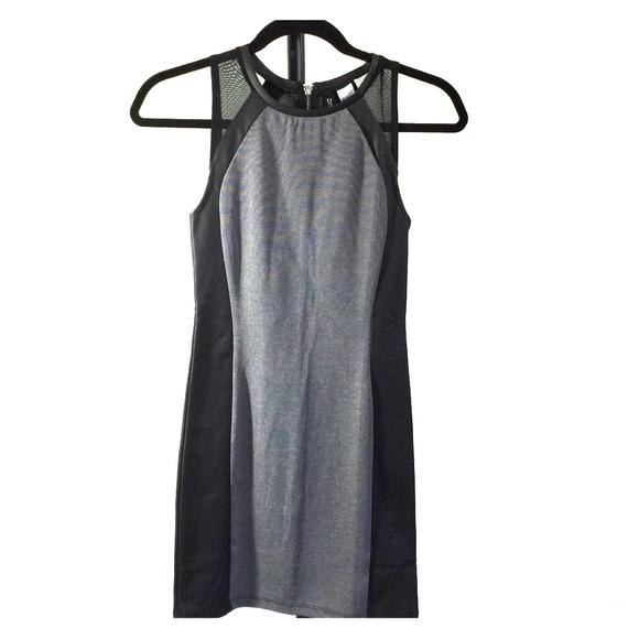 H&M Dresses & Skirts - H&M black and grey mini dress