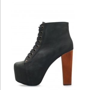 "[Jeffrey Campbell] Lita ""Distressed"" Booties"
