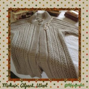 Chicos alpaca, wool, mohair sweater