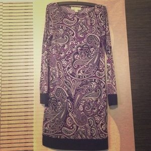 MICHAEL KORS PAISLEY PRINT DRESS