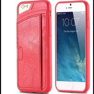 Leather card holder case iPhone 6 Plus/6s Plus