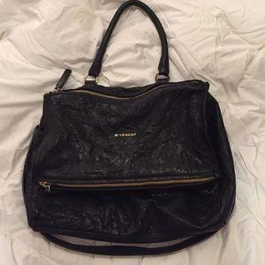 Givenchy Handbags - Authentic Black Givenchy Large Pepe Pandora Bag