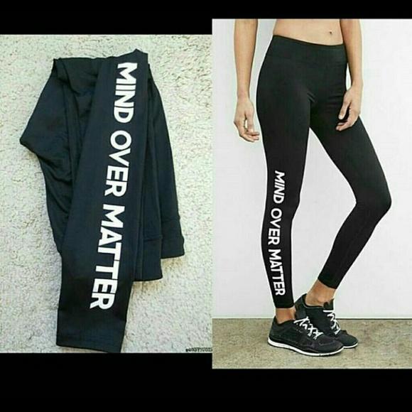 d69be9416d2cb Forever 21 Pants | Mind Over Matter Yoga Leggings | Poshmark