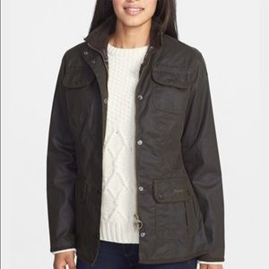 Barbour Jackets & Blazers - Women's Brown Barbour Waxed Utility Jacket