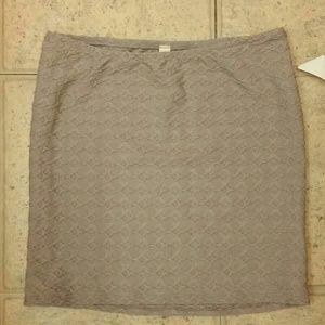 BNWT grey skirt