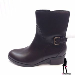Marc Fisher Shoes - Marc Fisher Brown Leather Ankle Boots 5.5