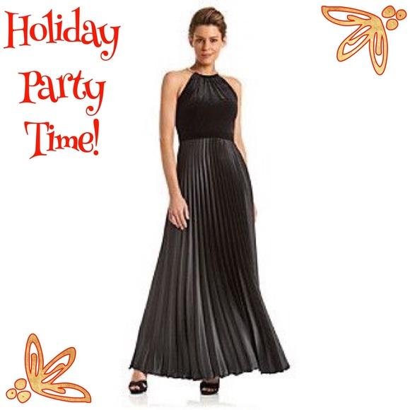 75% off Xscape Dresses & Skirts - Xscape Velvet Halter Dress with ...