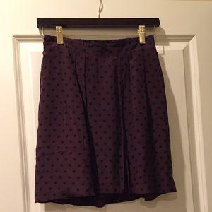 NWT Madewell Skirt in Polka Dot
