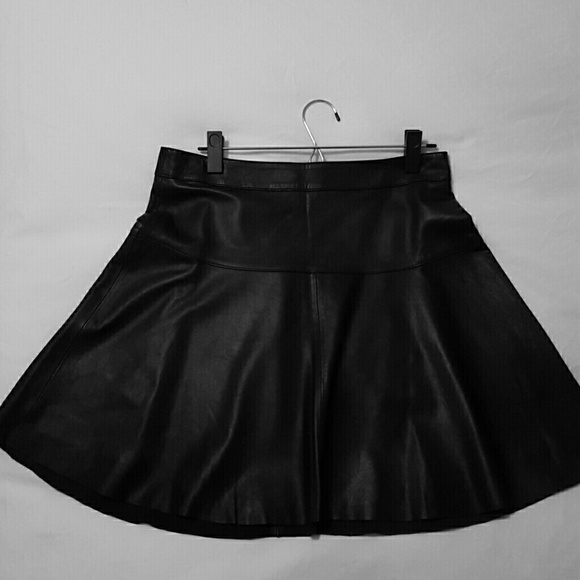 40 banana republic dresses skirts black leather