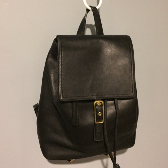 Coach 9827 Legacy West Black Leather Backpack