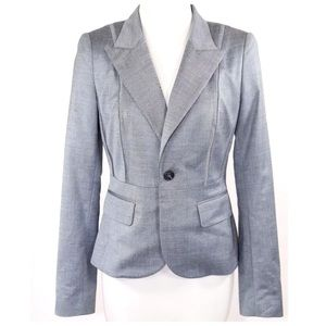 Alvin Valley Jackets & Blazers - Alvin Valley Blue Gray Fitted Jacket 34 XS $650
