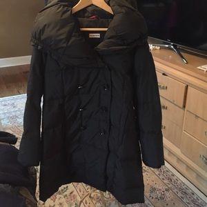 Hunter Boots Jackets & Blazers - Hunter 3/4 length black puffy coat sz. S
