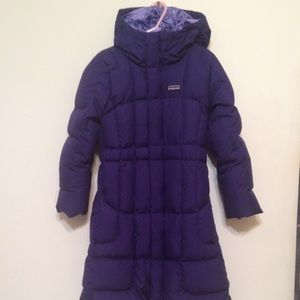 67% off Patagonia Other - NEW Patagonia Girls Long Down Coat from ...