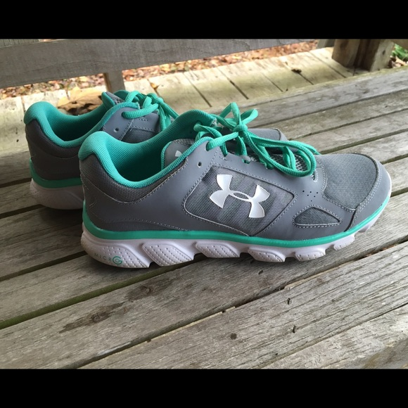 blue under armour shoes womens