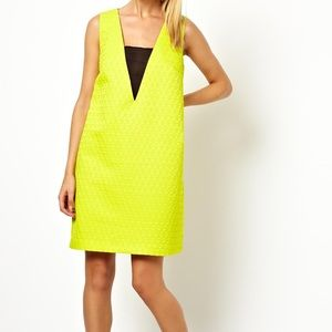 Asos Yellow Shift Dress
