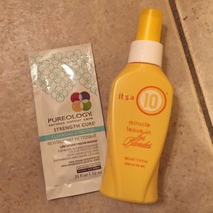 Other - It's a 10 for blondes 4 oz + Pureology sample
