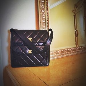 Chanel Vintage Quilted Double Flap Bag